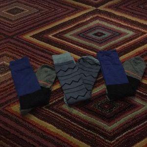 Men's Socks 3 pack NWOT Size Large 10 to 13